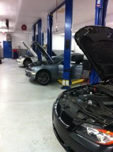 Inside Brian's Motor Works